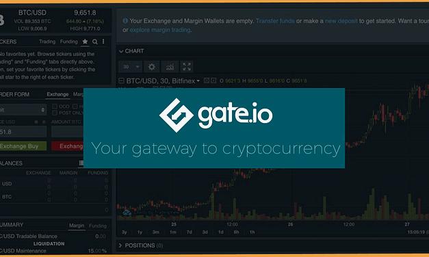 GATE.IO: iscriversi, depositare, prelevare e fare trading